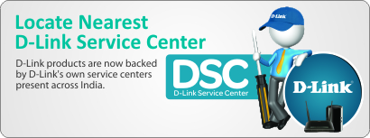 D-Link's Serice Centre